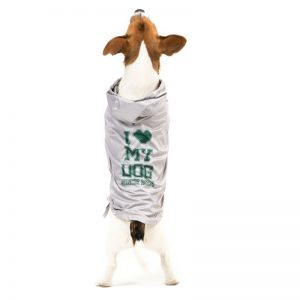 RAINJACKET SPORTY-impermeabile I LOVE MY DOG-taglie da XS a 4XL