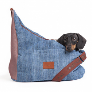 DENIM TRACOLLABAG-borsa I Love My Dog