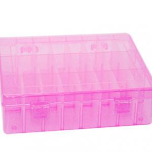 MINI BOX scatola con scomparti regolabili per mollette,fiocchi e accessori